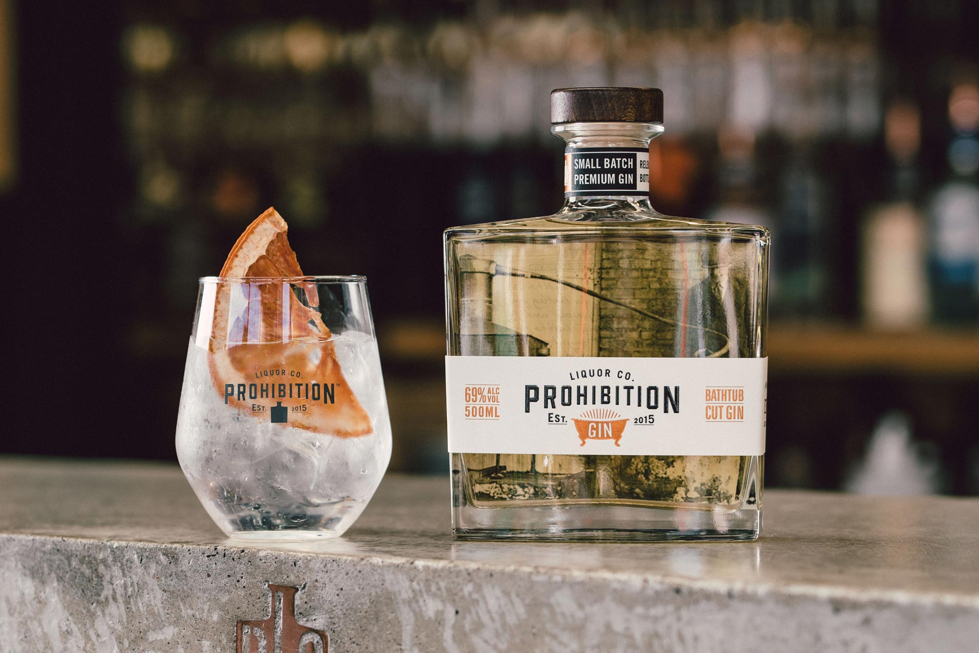 Prohibition Liquor Co Bathtub Cut Gin - Amanda Cartwright