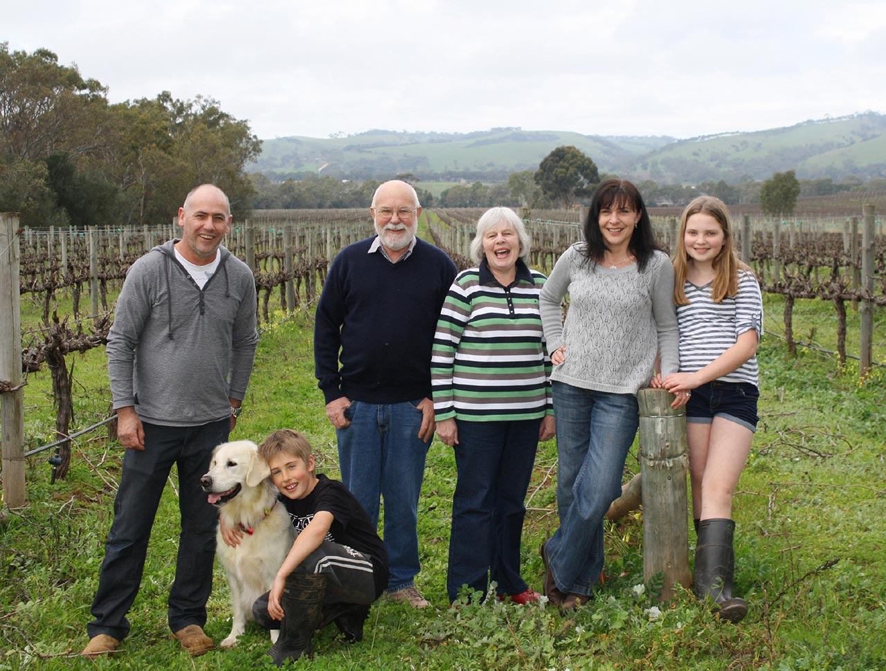 Walker's Run Wines family