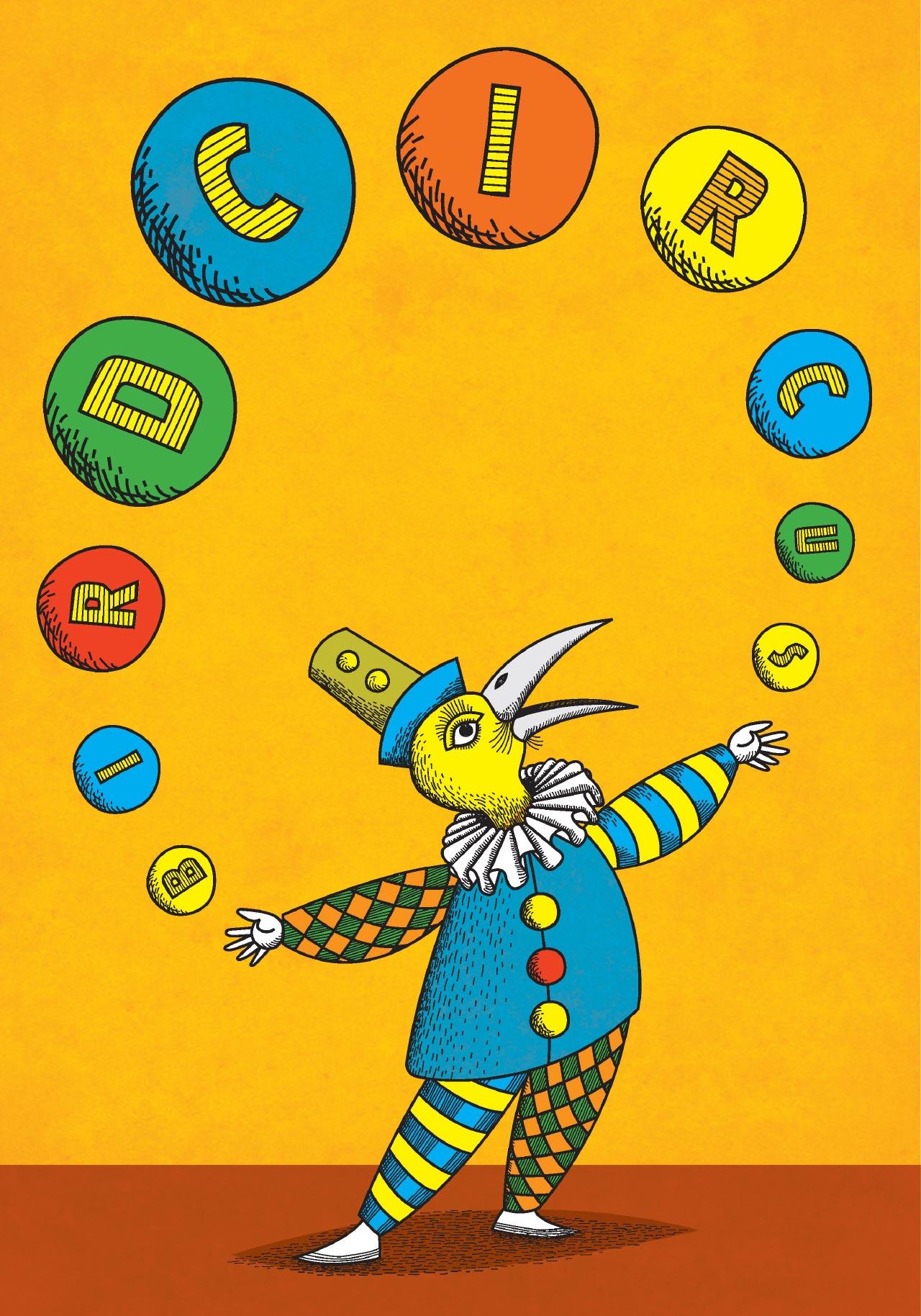 Bird Circus Juggler