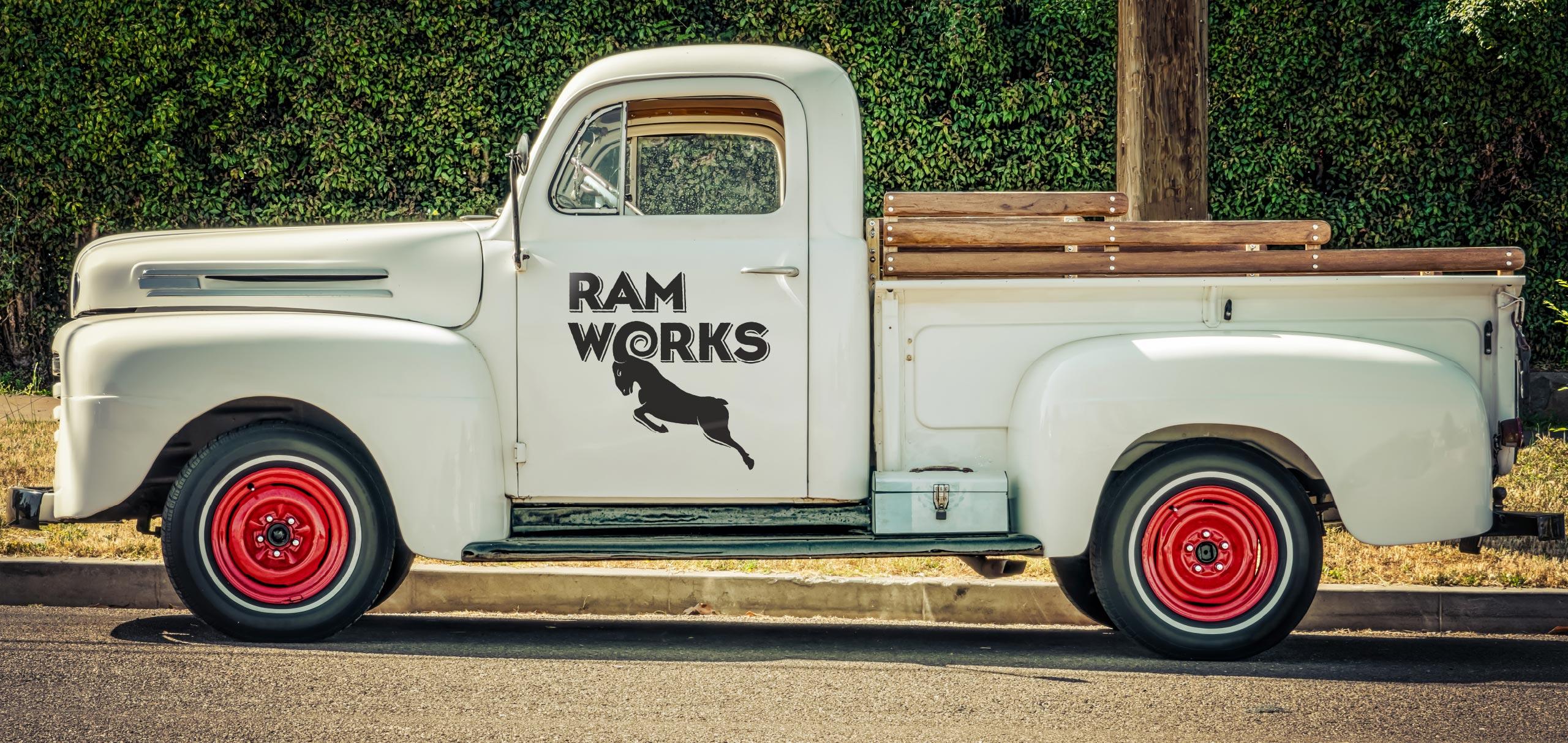Ram Works truck