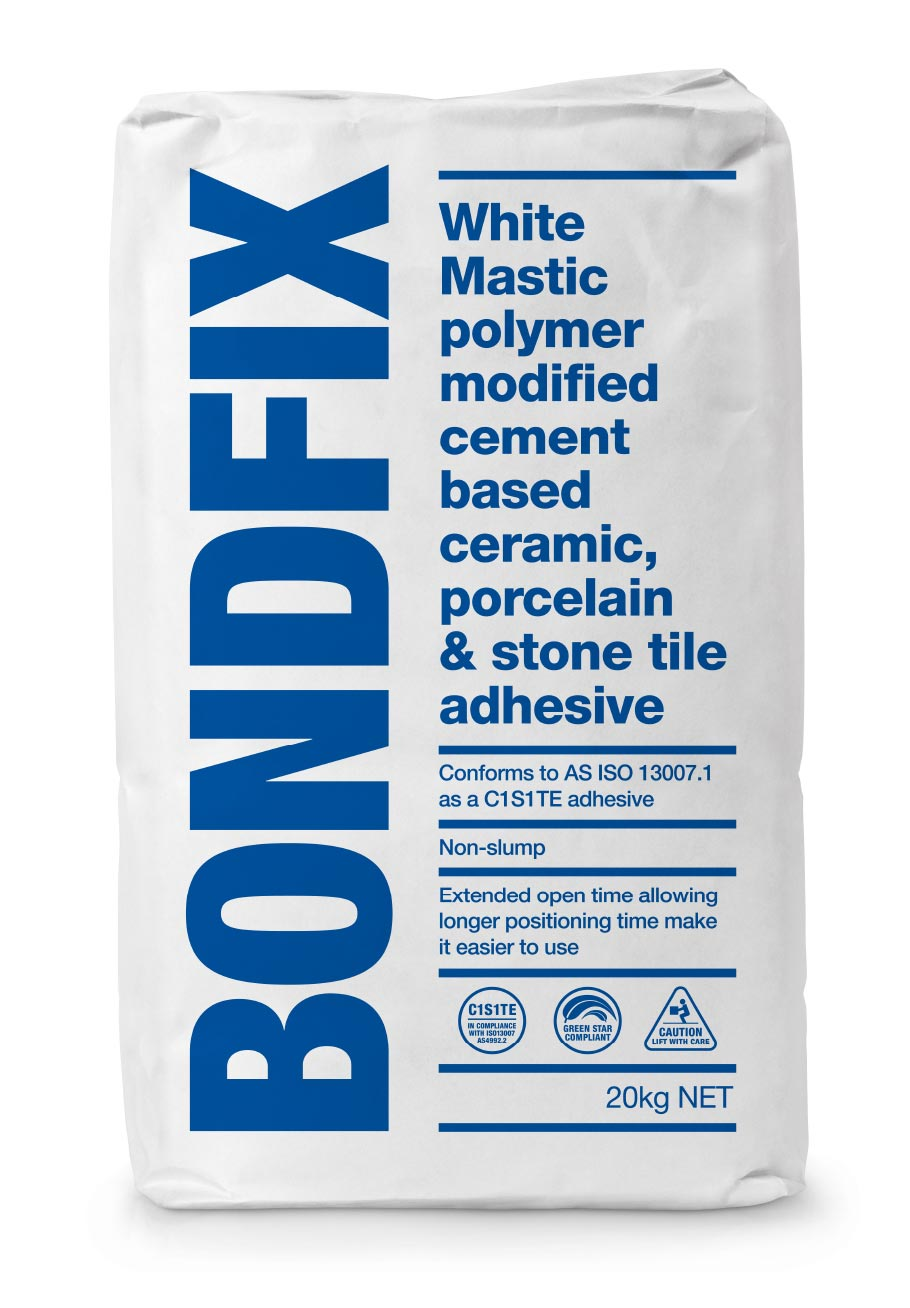 Bondfix Packaging for Dribond Construction Chemicals